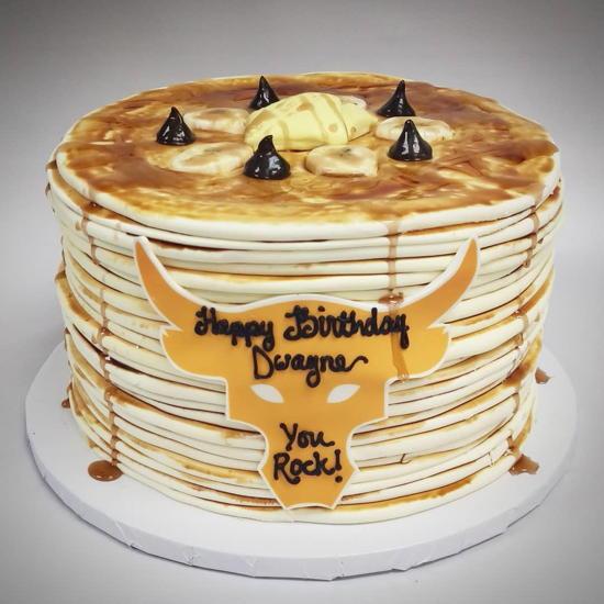 Top Tier Treats (courtesy) - Dwayne Johnson's birthday cake