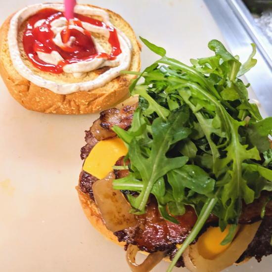 Toro Grillhouse - Aioli Burger (Foodzooka)