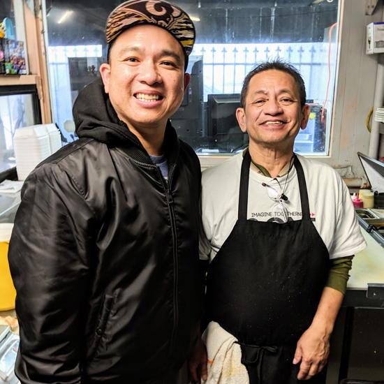 Toro Grillhouse - Owners RJ Liquigan and Manny Liquigan (Foodzooka)