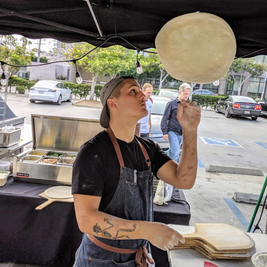 Two Doughs Pizza Co. - Chef Justin Turner (Foodzooka)