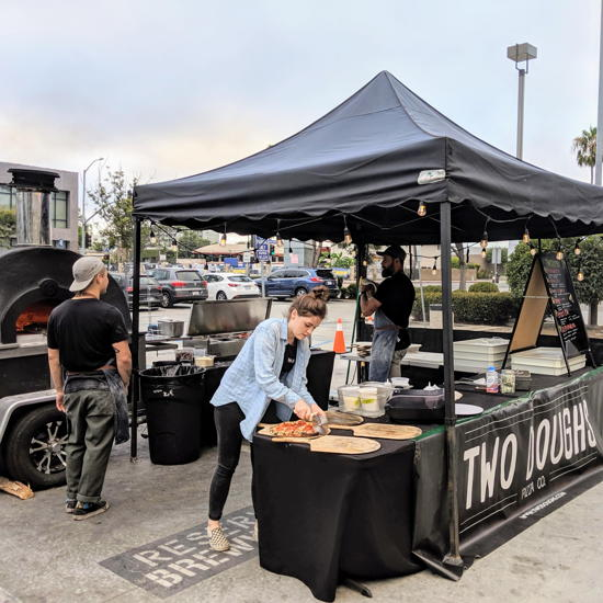Two Doughs Pizza Co. - Santa Monica Brew Works Pop-up (Foodzooka)
