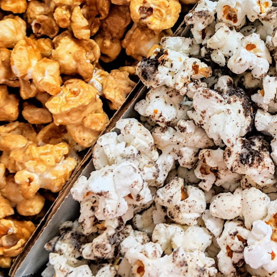 Uncle Pops - Cookies and Cream, Caramel Corn (Foodzooka)