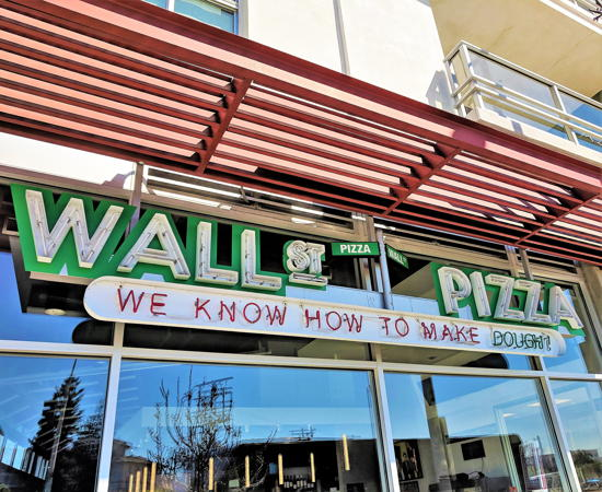 Wall St Pizza - Wall St on Washington Blvd (Foodzooka)