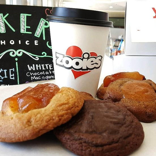 Zooies (courtesy) - Cookies and coffee