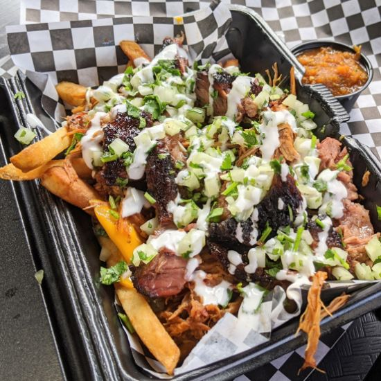Big Ant's BBQ - Loaded Fries (Foodzooka)