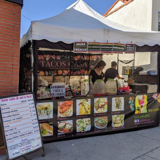 Casa - Pop-up at Cafe de Leche in Altadena (Foodzooka)